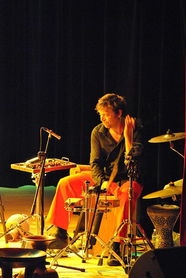 Grégoire Viché, hybrid drum Kit