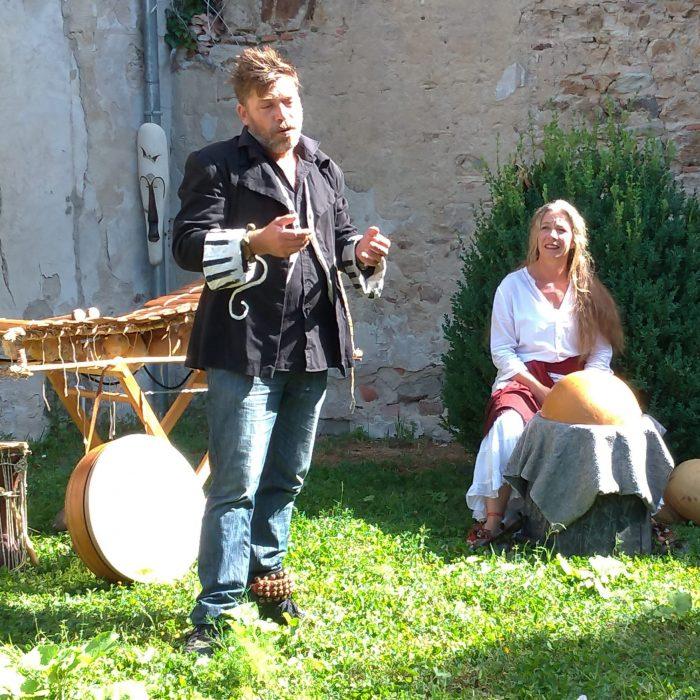 contes au jardin, contes en appartement, spectacle, Auvergne